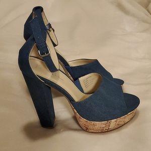 Nicole by Nicole Miller Shoes - Nicole Miller platform heel sandal